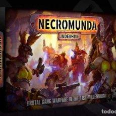 Juegos Antiguos: WARHAMMER 40000 NECROMUNDA UNDERHIVE COMPLETAMENTE NUEVO. Lote 148559462