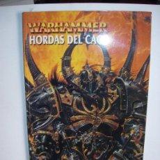 Juegos Antiguos: WARHAMMER / HORDAS DEL CAOS. Lote 148606314