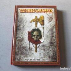 Juegos Antiguos: LIBRO WARHAMMER DEL REGLAMENTO DE EL JUEGO DE LAS BATALLAS FANTASTICAS - GAMES WORKSHOP 2006. Lote 148901330