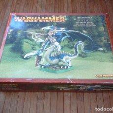 Juegos Antiguos: IMRIK PRÍNCIPE DRAGÓN. IMRIK DRAGONLORD. WARHAMMER. GAMES WORKSHOP 2002. UK.. Lote 148974754