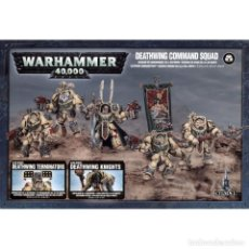 Juegos Antiguos: DEATHWING COMMAND SQUAD WARHAMMER 40000 5 MINIATURAS. Lote 149524538