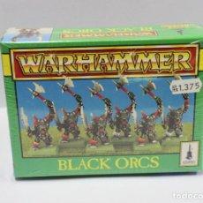 Juegos Antiguos: WARHAMMER - BLACK ORCS ORKOS - CITADEL - A ESTRENAR PRECINTADO. Lote 150274990