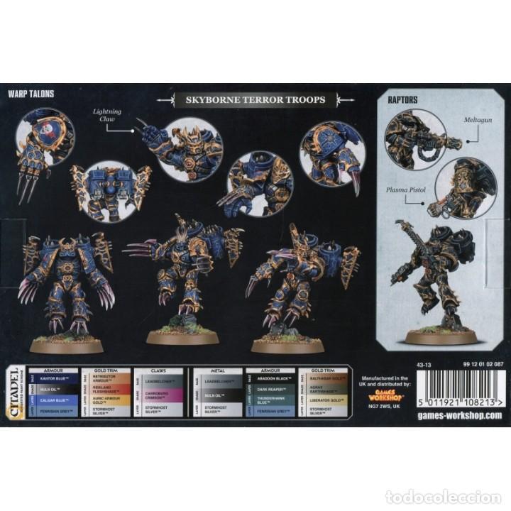 CHAOS SPACE MARINES RAPTORS ASTARTES WARHAMMER 40000 5 MINIATURAS (Juguetes - Rol y Estrategia - Warhammer)