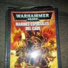 Juegos Antiguos: CODEX MARINES ESPACIALES DEL CAOS WARHAMMER 40000 40K OLDHAMMER. Lote 151738082