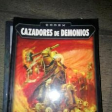 Juegos Antiguos: CODEX CAZADORES DE DEMONIOS WARHAMMER 40000 40K OLDHAMMER. Lote 151740126
