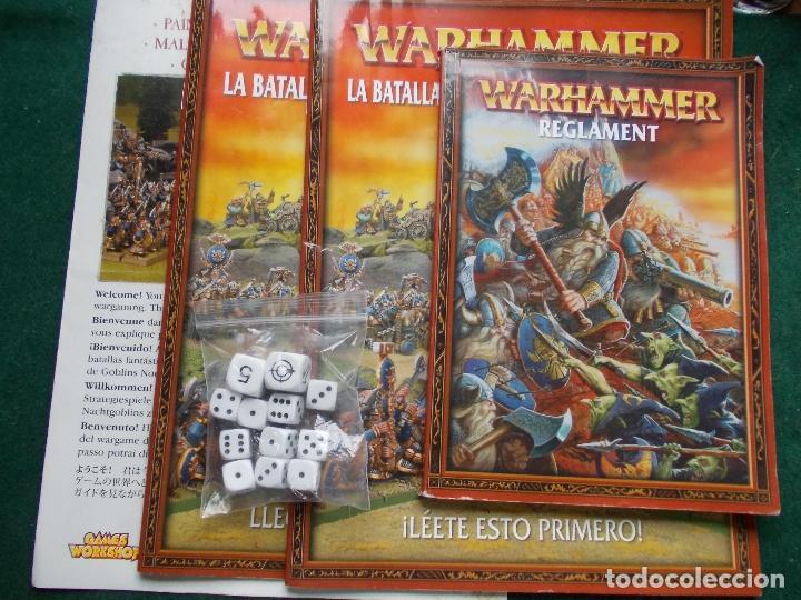 Lote enanos warhammer paso de la calavera regla - Sold