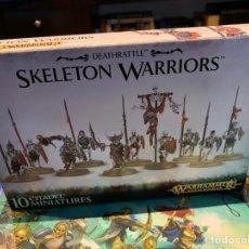 Juegos Antiguos: SKELETON WARRIORS. WARHAMMER. AGE OF SIGMAR. Lote 152362054