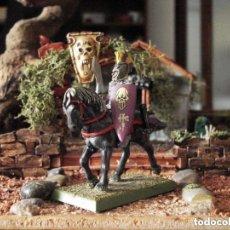 Juegos Antiguos: WARHAMMER ELFOS OSCUROS CLASSIC 1988 METAL PAINTED HEROE. Lote 152417490
