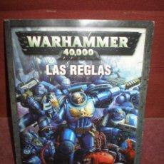 Juegos Antiguos: WARHAMMER 40000 LOTE DE BATALLA POR MACRAGGE LAS REGLAS. Lote 153504778