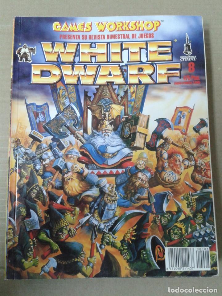 WHITE DWARF NUMERO 8. WARHAMMER (Juguetes - Rol y Estrategia - Warhammer)