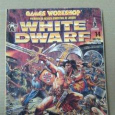 Juegos Antiguos: WHITE DWARF NUMERO 14. WARHAMMER. Lote 155275098