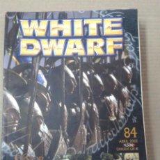 Juegos Antiguos: REVISTA WHITE DWARF Nº84. WARHAMMER. Lote 155348630