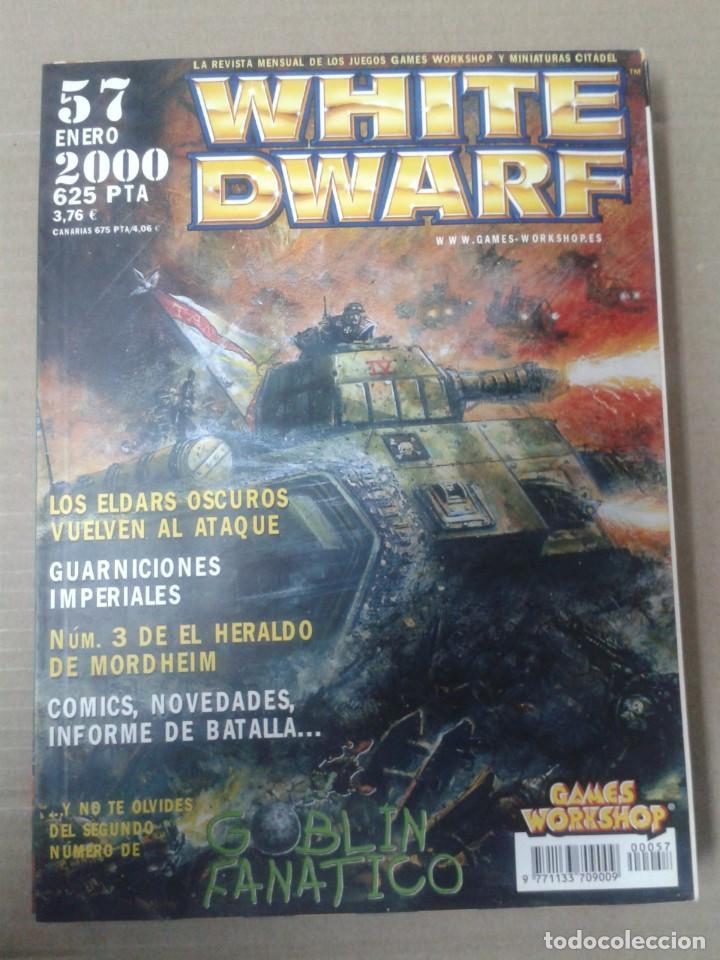 REVISTA WHITE DWARF Nº57. WARHAMMER (Juguetes - Rol y Estrategia - Warhammer)