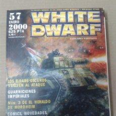 Juegos Antiguos: REVISTA WHITE DWARF Nº57. WARHAMMER. Lote 155384234
