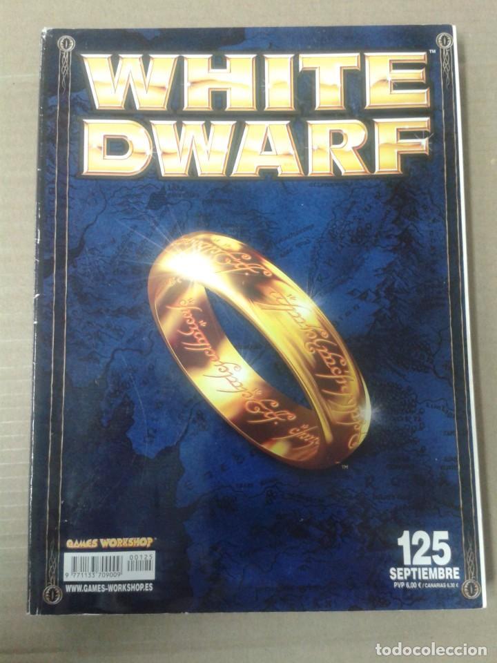 REVISTA WHITE DWARF 125. WARHAMMER (Juguetes - Rol y Estrategia - Warhammer)