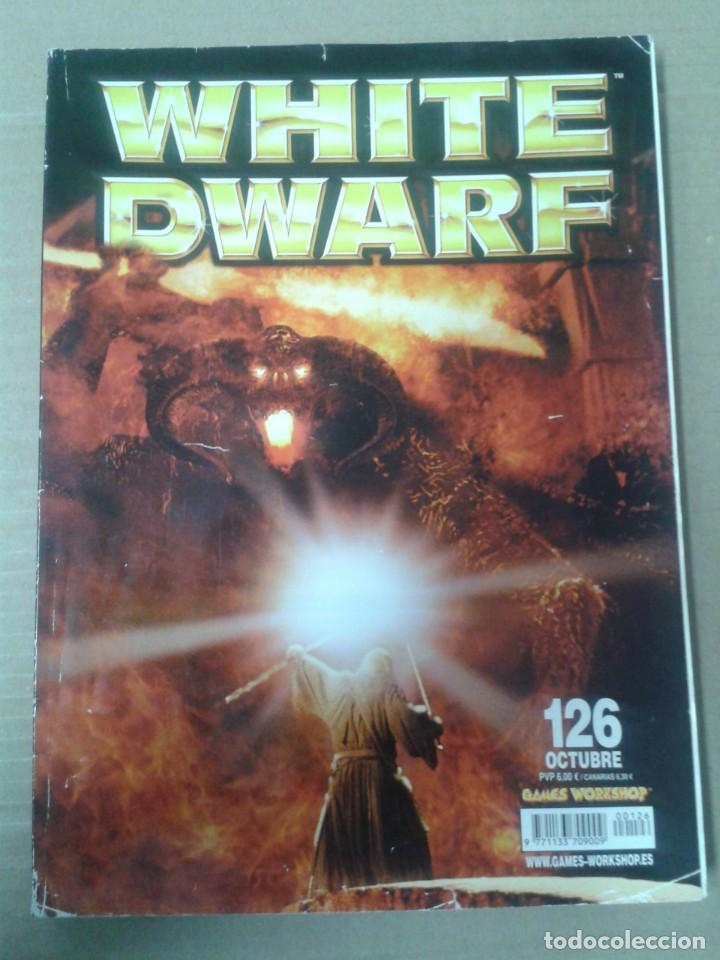 REVISTA WHITE DWARF Nº126. WARHAMMER (Juguetes - Rol y Estrategia - Warhammer)