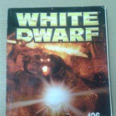 Juegos Antiguos: REVISTA WHITE DWARF Nº126. WARHAMMER. Lote 155384546