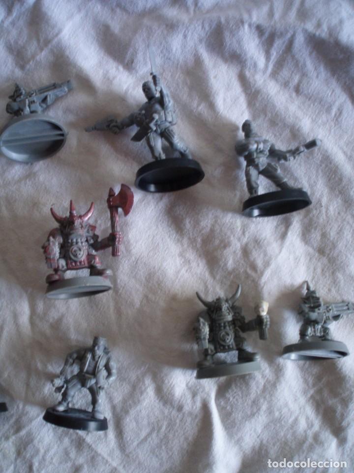 Juegos Antiguos: Space Marines de Catachan y Orcos Gretchins Warhammer 40k Caos cruzada estelar Space Hulk - Foto 3 - 155430630