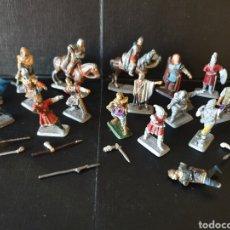 Juegos Antiguos: FIGURAS DE METAL TIPO WARHAMMER SEÑOR DE LOS ANILLOS. NO ESTÁN COMPLETAS. PARA CREAR DIORAMAS. Lote 155563313