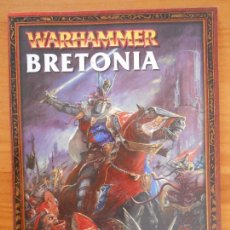 Juegos Antiguos: EJERCITOS WARHAMMER: BRETONIA - GAMES WORKSHOP (O1). Lote 155769306