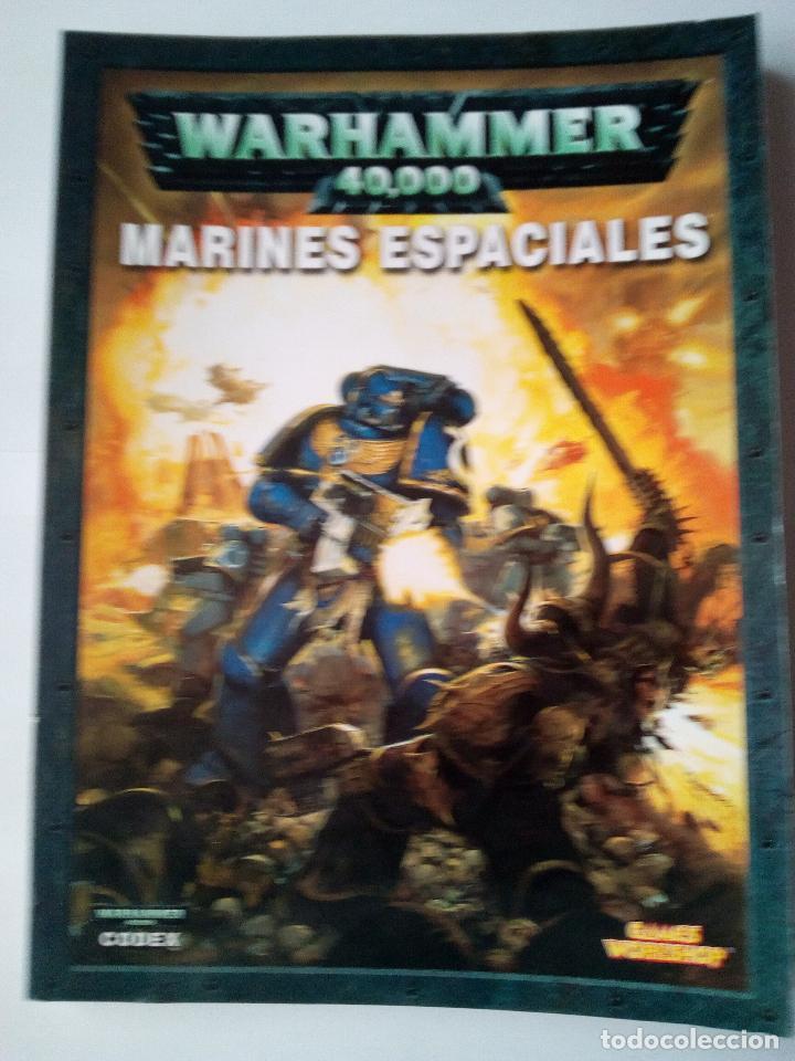 MARINES ESPACIALES -CODEX -WARHARMMMER 40.000 (Juguetes - Rol y Estrategia - Warhammer)