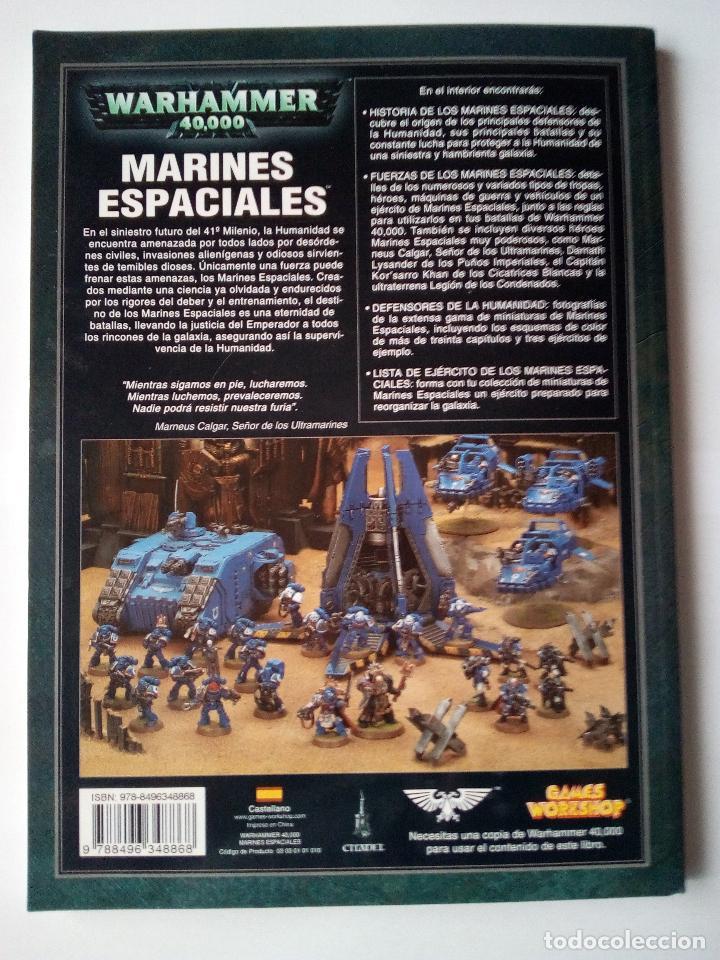 Juegos Antiguos: MARINES ESPACIALES -CODEX -WARHARMMMER 40.000 - Foto 2 - 155790774