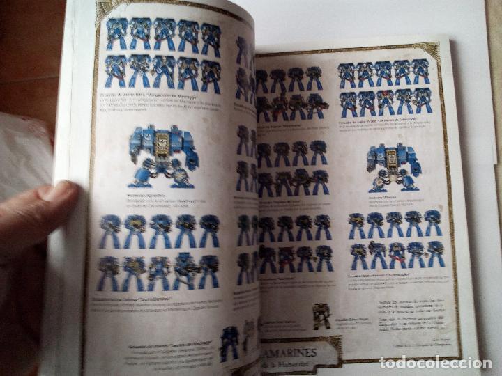 Juegos Antiguos: MARINES ESPACIALES -CODEX -WARHARMMMER 40.000 - Foto 3 - 155790774