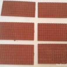 Juegos Antiguos: PLANCHAS DE TEJADO PARA TRENES, MAQUETAS O WARHAMMER N.2. Lote 156641078