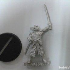 Juegos Antiguos: MINIATURA THEODEN WARHAMMER EL SEÑOR DE LOS ANILLOS.. Lote 158839494