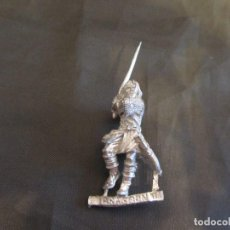 Juegos Antiguos: FIGURA METAL LORD OF THE RINGS GAMES WORSHOP DESCATALOGADA Y EN PERFECTO ESTADO ARAGORN. Lote 159039606