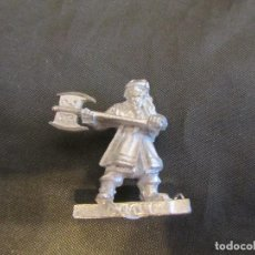 Juegos Antiguos: GIMLI METAL LORD OF THE RINGS GAMES WORSHOP DESCATALOGADA Y EN PERFECTO ESTADO. Lote 159040370