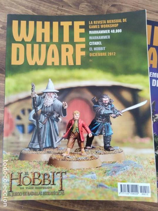 Juegos Antiguos: LOTE REVISTAS WHITE DWARF WARHAMMER 40.000 GAMES WORKSHOP SEÑOR DE LOS ANILLOS - Foto 2 - 160015478