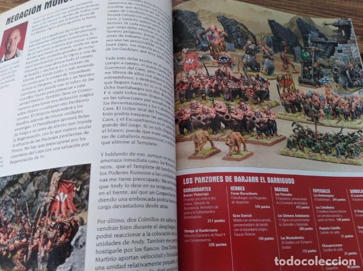 Juegos Antiguos: LOTE REVISTAS WHITE DWARF WARHAMMER 40.000 GAMES WORKSHOP SEÑOR DE LOS ANILLOS - Foto 5 - 160015478