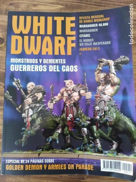 Juegos Antiguos: LOTE REVISTAS WHITE DWARF WARHAMMER 40.000 GAMES WORKSHOP SEÑOR DE LOS ANILLOS - Foto 6 - 160015478