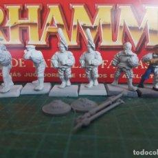 Juegos Antiguos: EL IMPERIO WARHAMMER LANCEROS ARCBUCEROS ALABARDERO. Lote 160493990