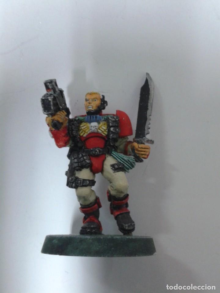 EXPLORADOR MARINE ESPACIAL. WARHAMMER 40000 (Juguetes - Rol y Estrategia - Warhammer)