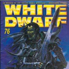 Juegos Antiguos: WHITE DWARF Nº 76, LA REVISTA DE MINIATURAS CITADEL. Lote 161355494