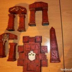 Juegos Antiguos: TEMPLO DECORADO DE WARHAMMER. Lote 162943546