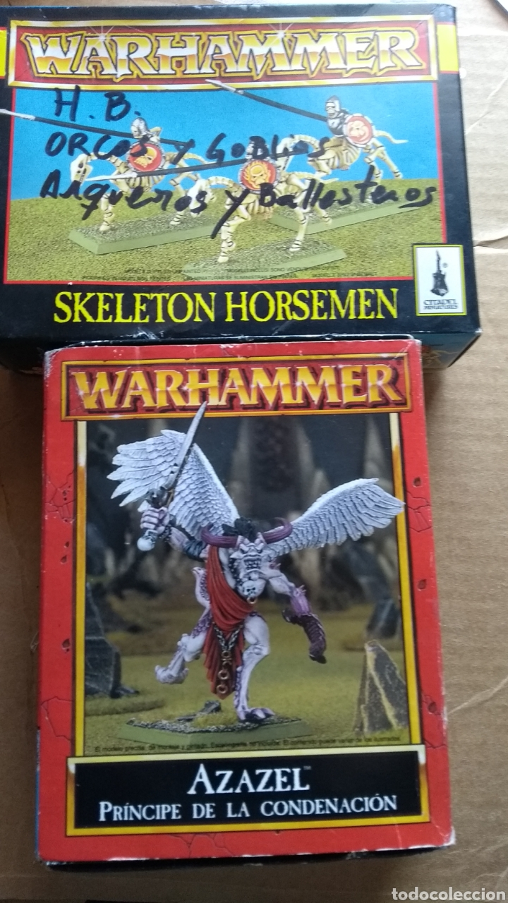 SKELETON HORSEMEN AZAZEL LEER ANTES (Juguetes - Rol y Estrategia - Warhammer)