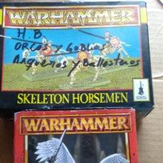 Juegos Antiguos: SKELETON HORSEMEN AZAZEL LEER ANTES. Lote 163575265