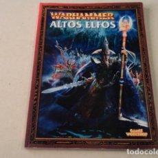 Juegos Antiguos: WARHAMMER - ALTOS ELFOS. Lote 164593982