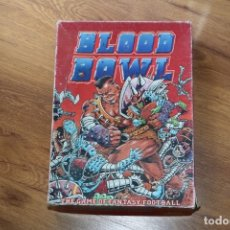 Jeux Anciens: BLOOD BOWL PRIMERA EDICIÓN 1986 GAMES WORKSHOP VINTAGE JUEGO MESA FÚTBOL FANTASÍA. Lote 124171371