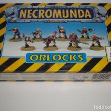 Juegos Antiguos: NECROMUNDA BANDA ORLOCKS, NUEVA DESPRECINTADA. Lote 165540702