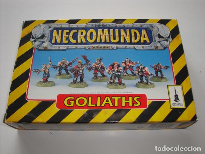 NECROMUNDA BANDA GOLIATH, NUEVA DESPRECINTADA (Juguetes - Rol y Estrategia - Warhammer)