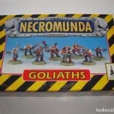Juegos Antiguos: NECROMUNDA BANDA GOLIATH, NUEVA DESPRECINTADA. Lote 165540930