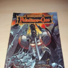 Juegos Antiguos: WARHAMMER - PALADINES DEL CAOS. Lote 167034096