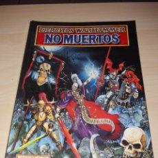 Juegos Antiguos: EJÉRCITOS WARHAMMER - NO MUERTOS. Lote 167034382