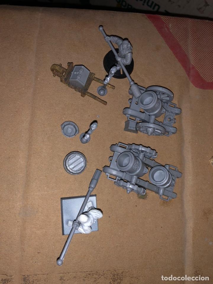 Juegos Antiguos: Pack artillería Warhammer transformación única - Foto 2 - 167077100