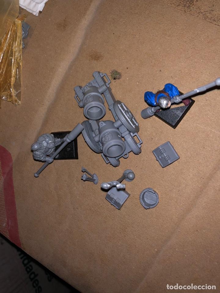 Juegos Antiguos: Pack 2 artillería warhammer Imperio - Foto 2 - 167077116
