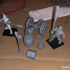 Juegos Antiguos: PACK MINI ARTILLERÍA WARHAMMER IMPERIO 3. Lote 167077137